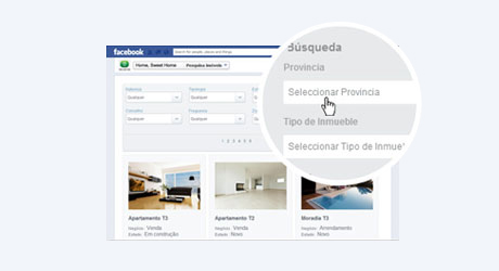 Redes sociales ego real estate for Buscador de inmuebles